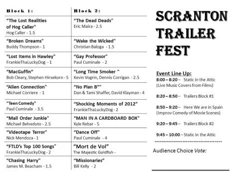 Scranton Trailer Fest Winners