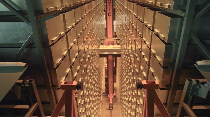 Automated Storage and Book Retrieval System at Marywood University