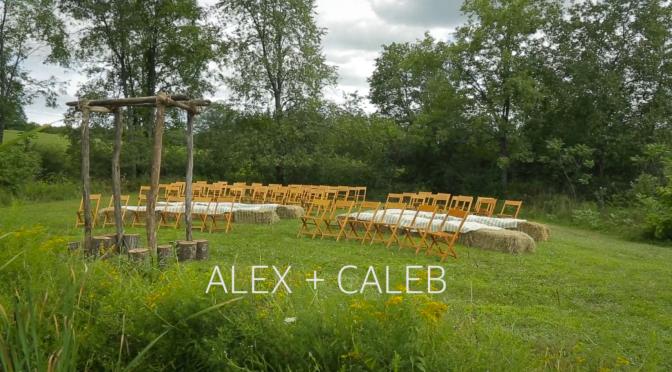 Alex + Caleb Wedding